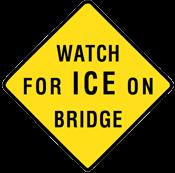 watch for ice bridge