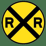Rail Road Sign
